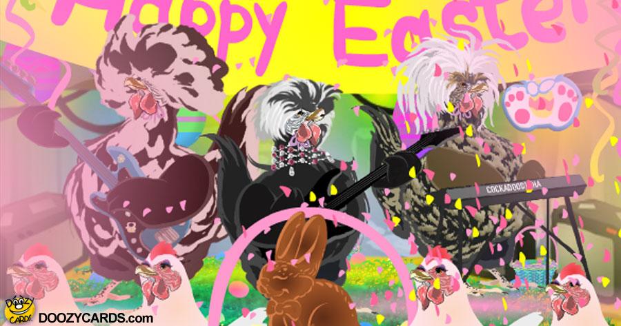 Easter Rockadoodle-doo