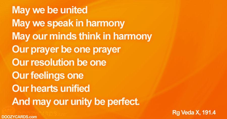 Unity Prayer