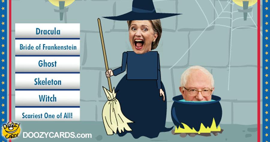 Halloween Hillary