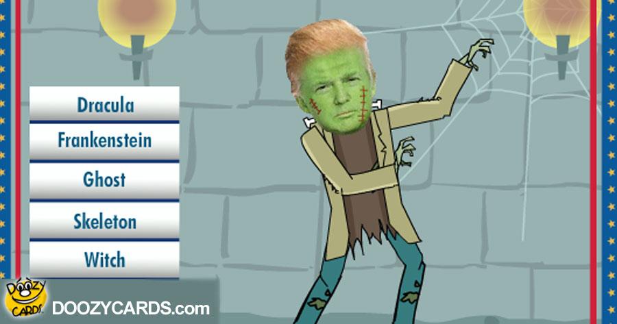 Halloween Donald