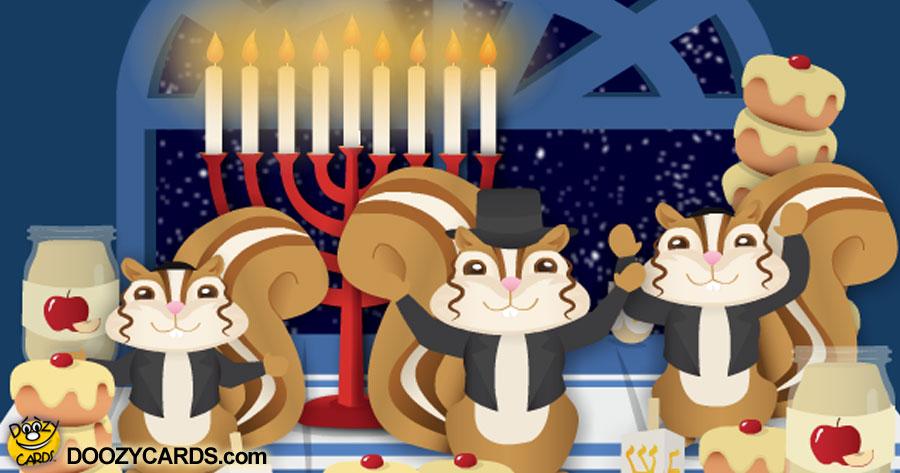 Chanukkah Chipmunks Sing