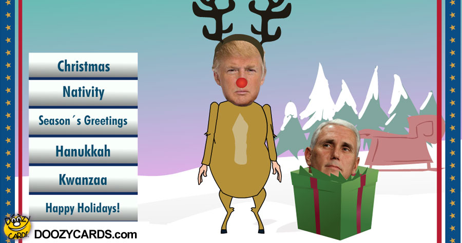 Dancing Trump Christmas