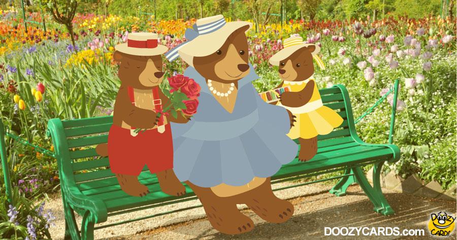 Mama Bear in Paris