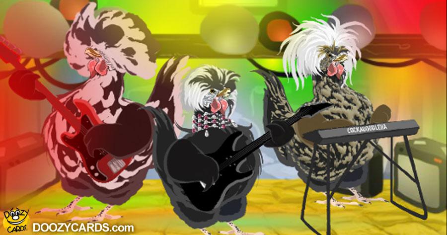 Birthday Chicken Band for Friend