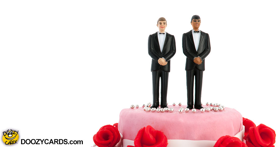 Wedding Congrats for LGBT Grooms