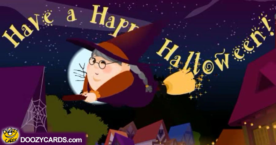 Hallows Eve Witch