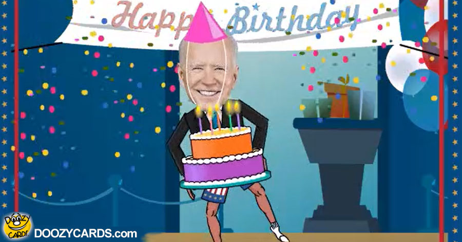 Birthday Dancing Joe Biden