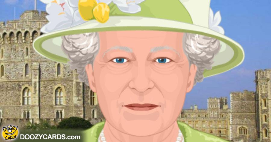 Talking Queen Elizabeth