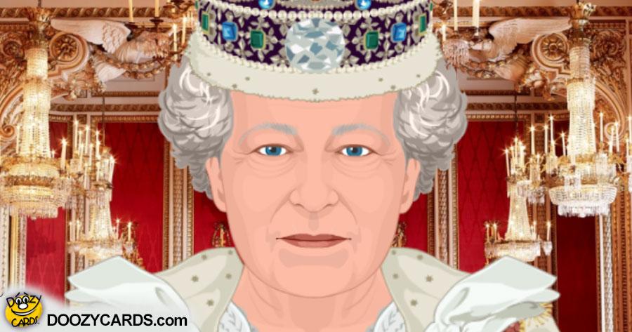Talking Queen Elizabeth II (Personalize)